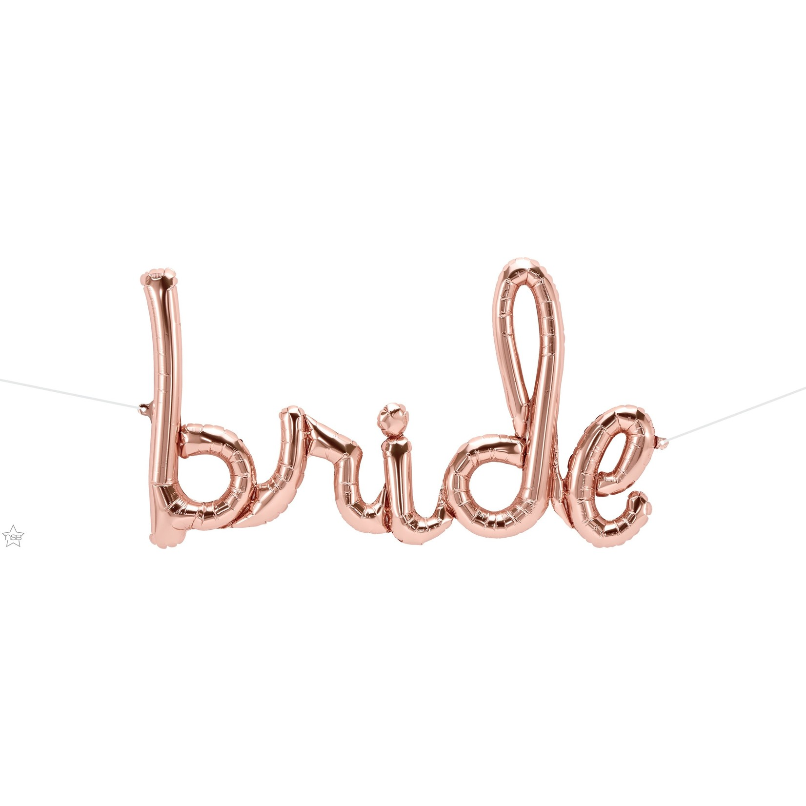 Air filled- Bride- Rose Gold- 1 Count