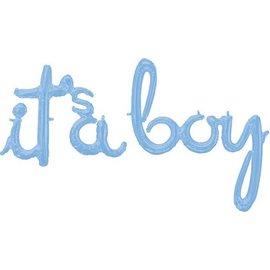 Air Filled Foil - Its a Boy/Blue