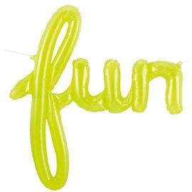 """Air Filled Foil - Fun / Lime Green/ 27"""""""