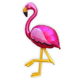 Foil Balloon-Airwalker-Fabulous Flamingo
