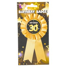Award Ribbon-Milestone 30th Birthday