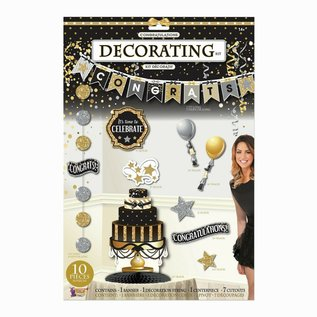 Decorating Kit-Congratulations-10pcs