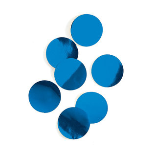 Foil Confetti-Dots-Royal Blue-0.8oz-22g