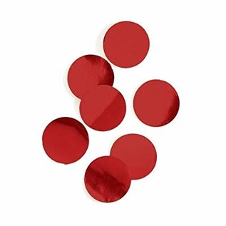 Confetti-Dots-Metallic Red-0.8oz-22g
