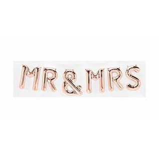Air Filled-Mr & Mrs-Rose Gold-7pcs