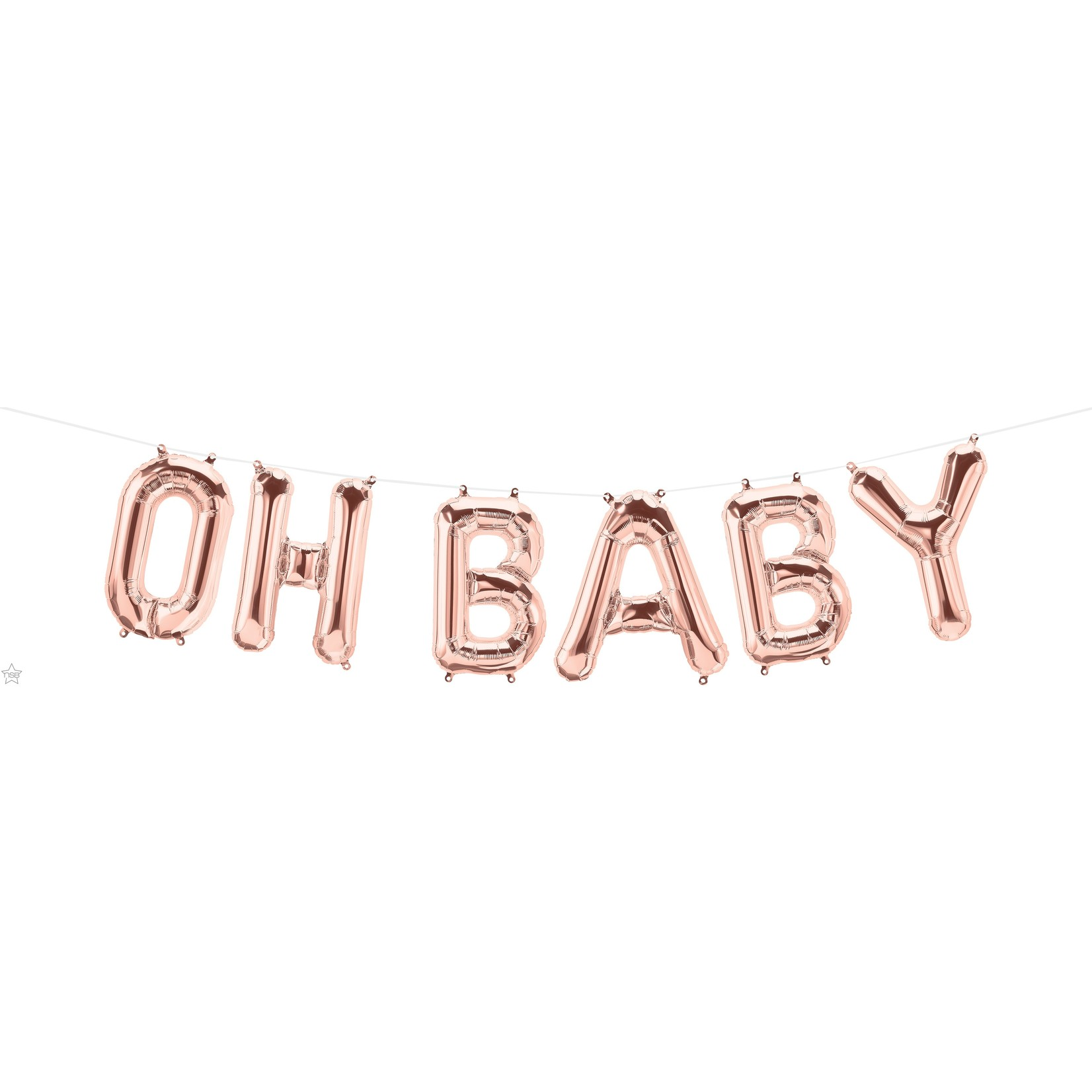 Air Filled-OH BABY-Rose Gold-6 Pieces