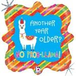 "Foil Balloon-Llama-18"""