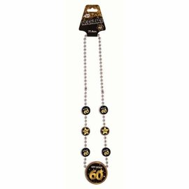 Milestone Birthday Necklace-60th