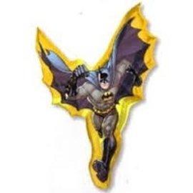 "Foil Balloon-Batman-Supershape-27"" x 39"""