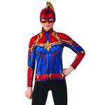 Costume-Captain Marvel Shirt-Large-Adult