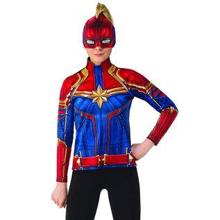 Costume-Captain Marvel Shirt-Medium-Adult
