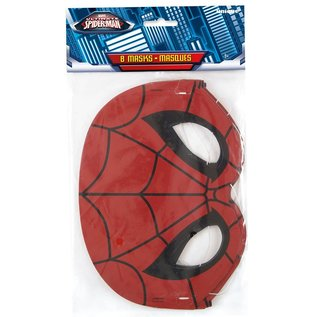 Masks - Spiderman/8count