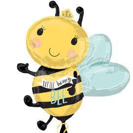 "Balloons-Supershape-Honey Bee Gender Reveal-30"""