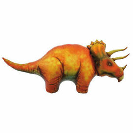 Foil Balloon-Triceratops-Supershape-1 pk