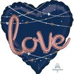 Balloons-Supershape 3D-Navy Love