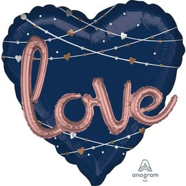 Balloons-Supershape 3D-Navy Love