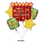 Foil Balloon-5pc Bouquet-TNT Party
