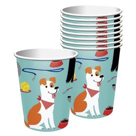 Cups-Dog Party/8Count/9oz