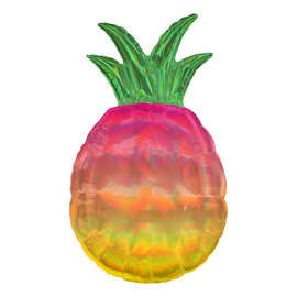 Foil Balloon - Supershape - Ombre Pineapple - 31""