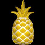 "Foil Balloon-Supershape-Golden Pineapple- 44"""