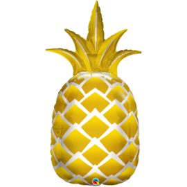 Foil Balloon-Supershape-Golden Pineapple- 44""