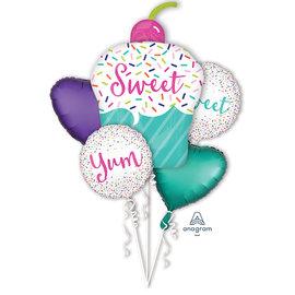 Foil Balloon-5pcs Balloon Bouquet-Sweet Surprise