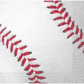 Luncheon Napkins-Baseball-16pk-2ply