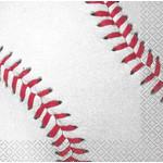 Beverage Napkins-Baseball-16pk-2ply