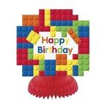 Honeycomb Decorations-Lego Party-3pk