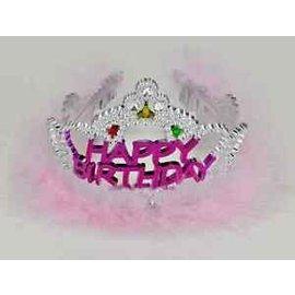 Flashing Tiara-Happy Birthday-1pk