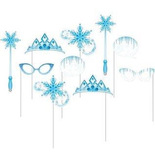 Photo Booth Props-Snow Princess-10pk