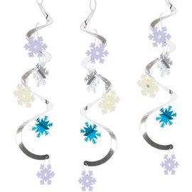 Dizzy Danglers-Snow Princess-5pk