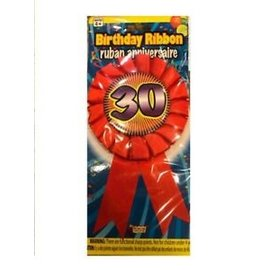 Award Ribbon-30th Birthday