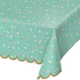 """Tablecover-Floral Tea Party-54"""" x 102"""""""