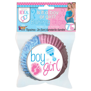 Baking Cups - Gender Reveal