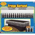 "Garland - Silver & Black / 1 Pc 20' x 15"""