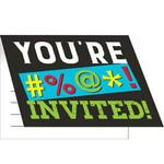 Invites - Age Humor/ 8 Count