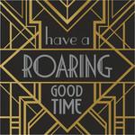Luncheon Napkins-Roaring 20's-16pk-3ply