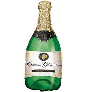 Foil Balloon-Supershape-Champagne Bottle-Chateau Celebration