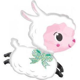 Foil Balloon - Supershape - Little Lamb