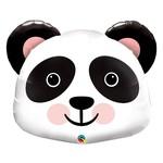 Foil Balloon-Supershape-Cartoon Panda Face