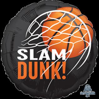 "Foil Balloon - Basket Ball - 18"""