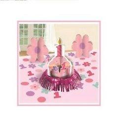 Table Decorating Kit-1st Birthday Pink