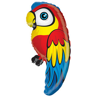 Foil Balloon-Supershape-Colourful Parrot