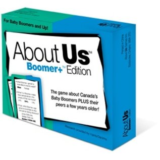 Party Game-About Us- Boomer+ Edition