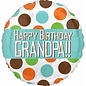 Foil Balloon-Happy Birthday-Grandpa-18""