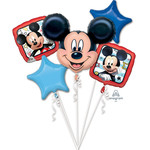 Foil Balloon-5pc Bouquet-Mickey Mouse