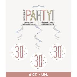 Hanging Decorations-30th Birthday