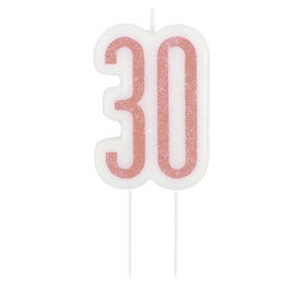 Candle-Glitter-30th Birthday