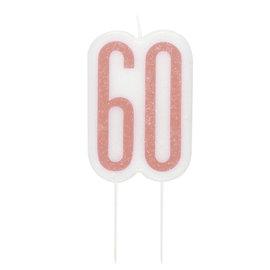 Candle-Glitter-60th Birthday